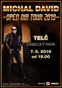 Michal David Open air tour 2019