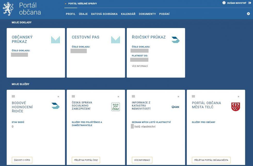 Portál občana | Telc.eu